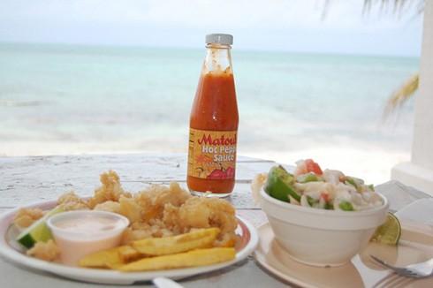 Da Conch Shack Food
