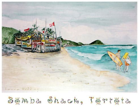 Bomba Shack Art
