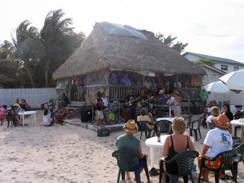 Ambergris Caye Beach Bars