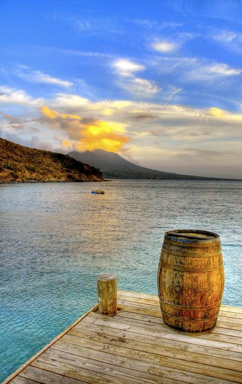 St. Kitts, Cockleshell beach
