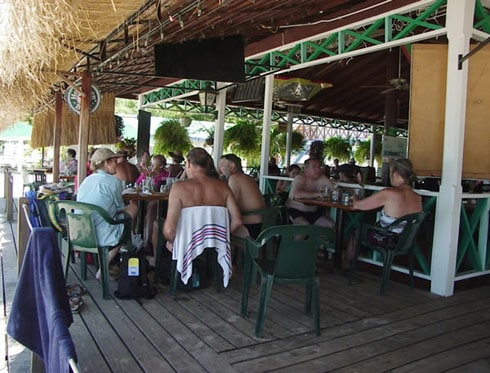 Spinnakers Beach Bar St Lucia