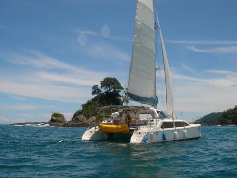 Catamaran Sailing
