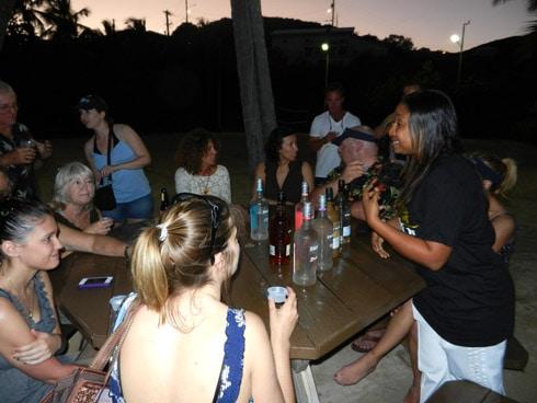 Bolongo Bay Rum Tasting