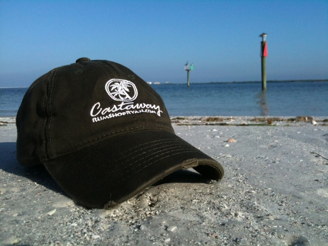 Fort Myers Beach Castaway hat