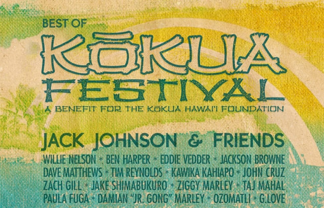 Kokau Festival Jack Johnson