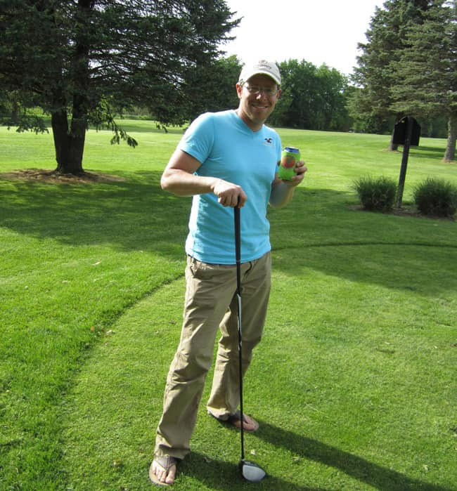 You can even be a Castaway on the links! Cheers Billy D.!