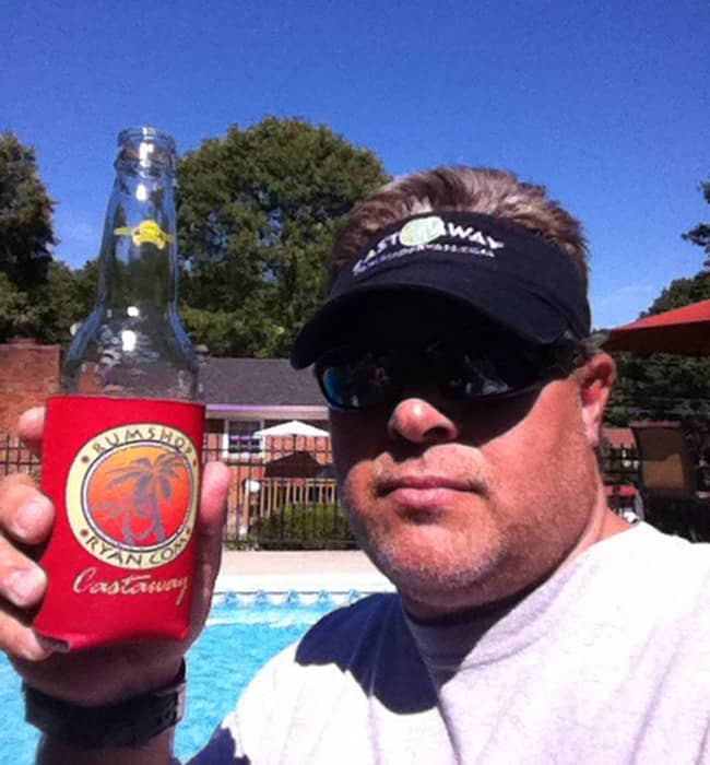 Dale M. is knows how to live the laid back Castaway lifestyle. Cheers!