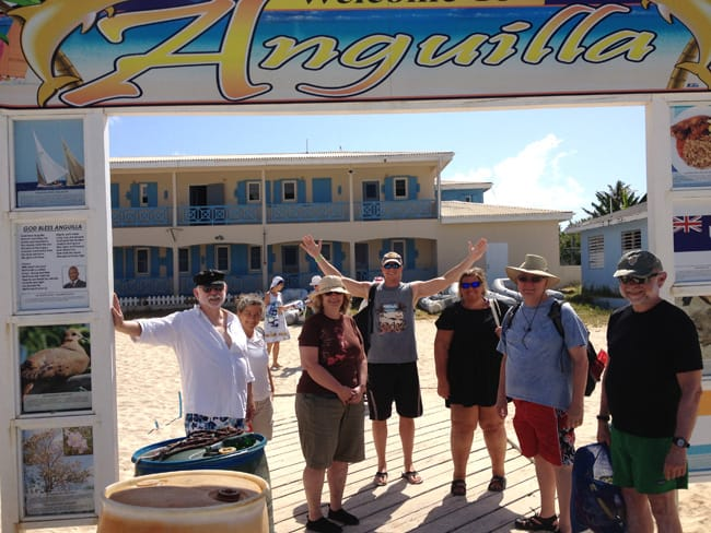 Sagitta group Anguilla