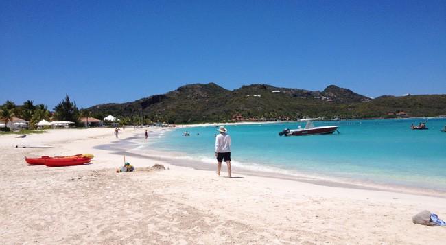 St Jean beach st barts