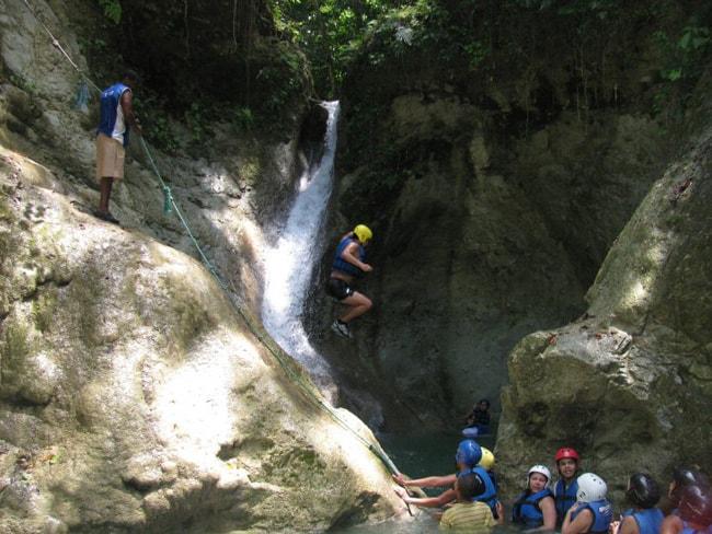 dominican republic waterfalls