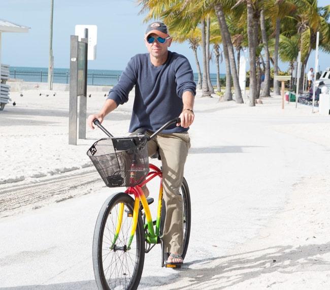 Kenny Chesney on Bike