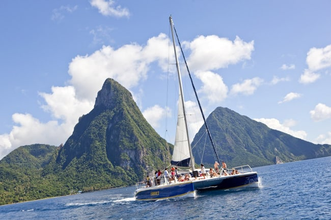 st lucia sailing charters