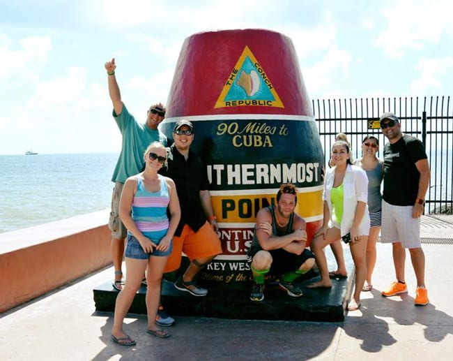 Southern Most Marker Key West