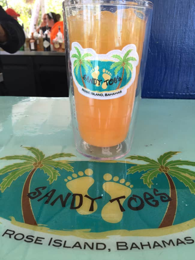 The Sandy Toe Drink