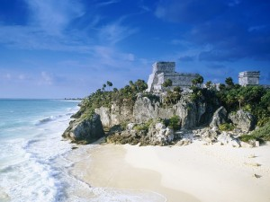 Cliff Top Ruins – The Pearl of Tulum
