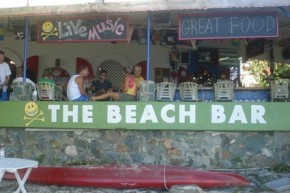 St John beach-bar