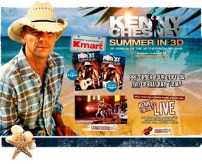 Kenny Chesney Summer in 3D DVD