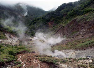 Dominica Valley of Desolation