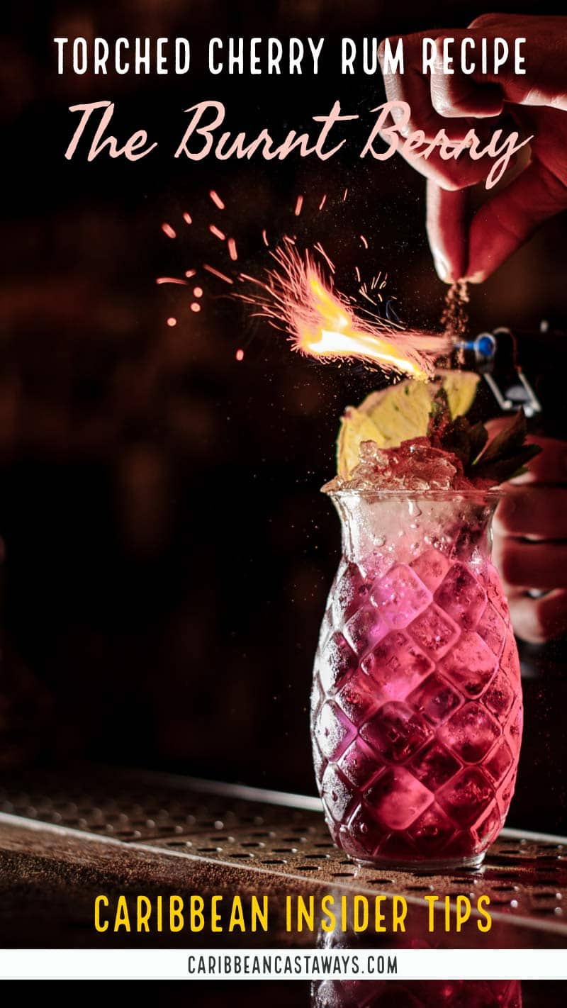 Torched cherry drink recipe