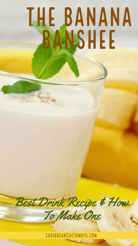 Banana drink recipe