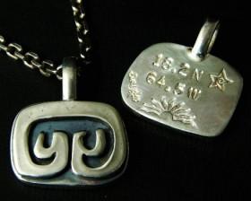 ST. John Petroglyph Necklace