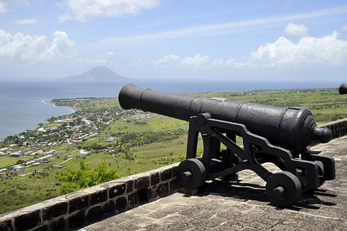 St. Kitts Brimstone Hill fort