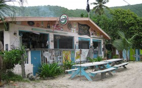 Corsairs Beach Bar – Jost Van Dyke, BVI