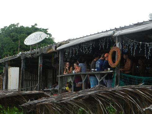 Shipwreck Beach Bar St Kitts