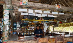 Caribbean Beach Bars: The Palapa Bar In San Pedro, Belize