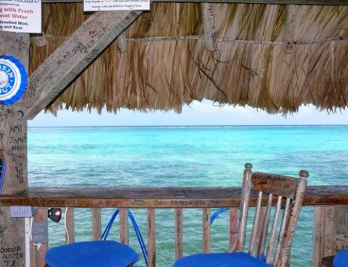 Caribbean Beach Bars: The Palapa Bar In San Pedro, Belize
