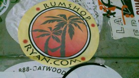 RumShopRyan Sticker