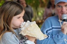 Key West Conch Blowing Contest