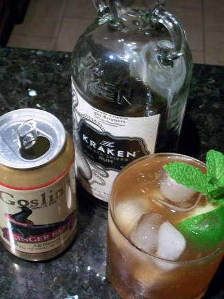 The Perfect Storm – A Kraken Rum Boat Drink