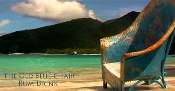 Old Blue Chair Rum Drink