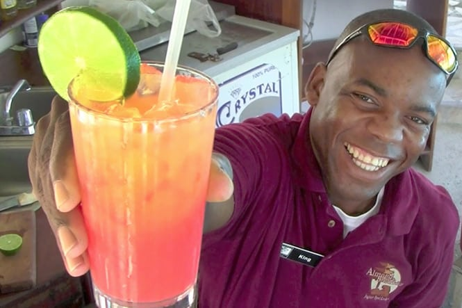 Belize Rum Punch Cocktail