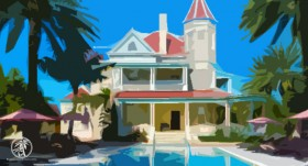 Southern Most Mansion Key West