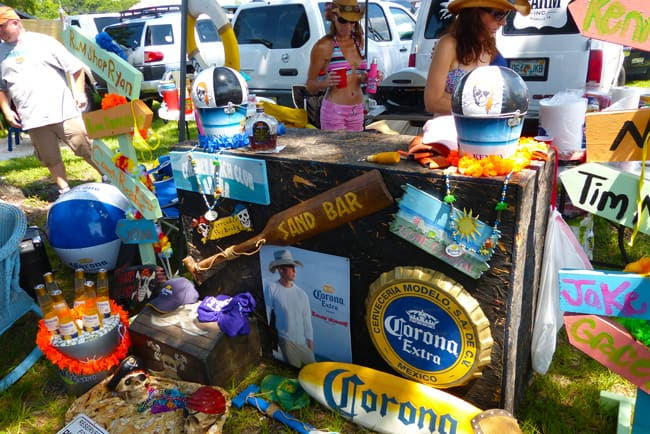 Chesney Tampa Tailgating