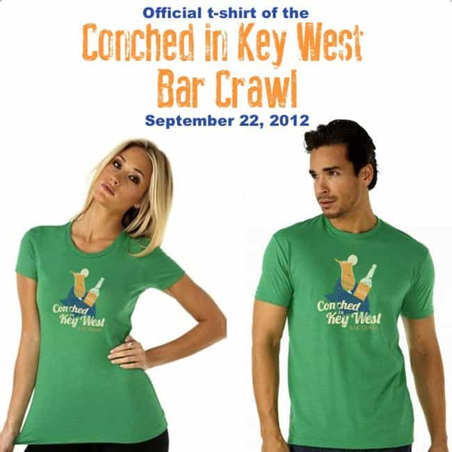 Key West Bar Crawl Shirts