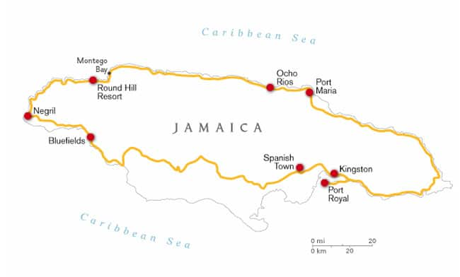 Jamaica Pirate Road Trip