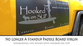 Hooked on SUP Paddle boarding
