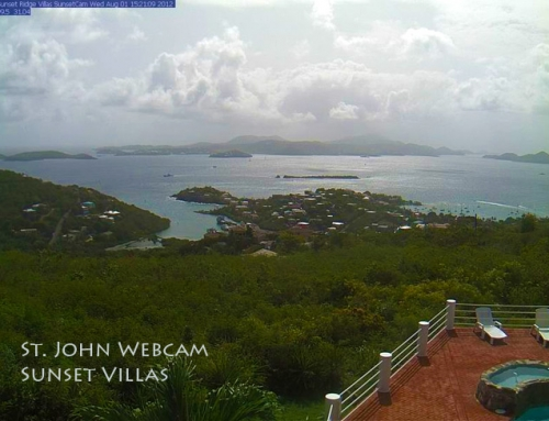 New St. John Webcam By Sunset Villas