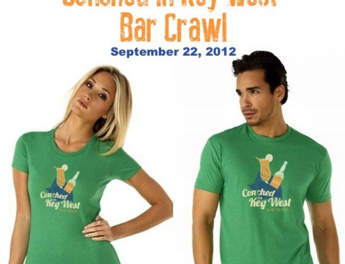 Conched in Key West Bar Crawl – Schedule of Events
