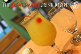 expat smash rum drink recipe