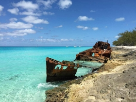 Bimini Bahamas Ship Wreck