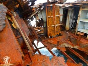 Gallant Lady shipwreck Bimini