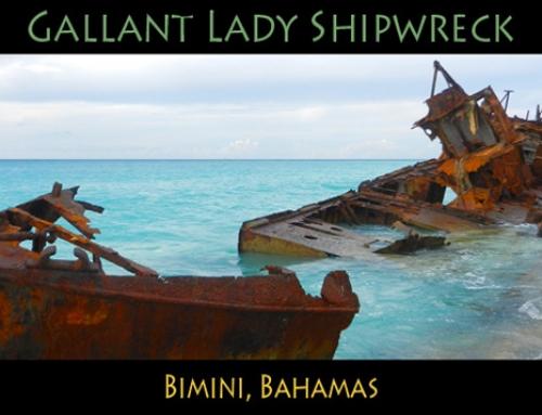 Gallant Lady Shipwreck, Bimini Bahamas