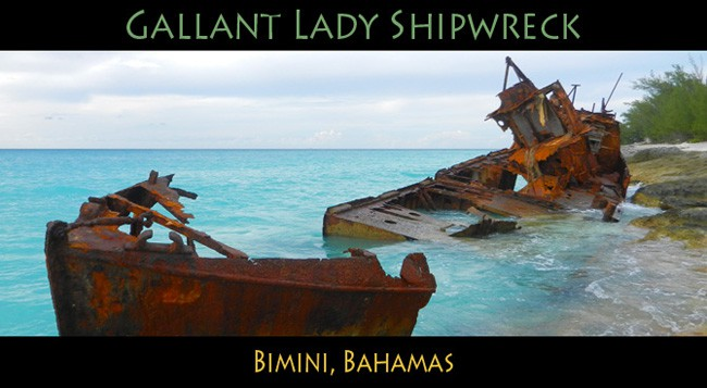 Bimini Shipwreck Gallant Lady