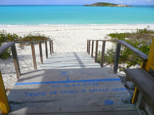 Tropic of cancer beach Exuma
