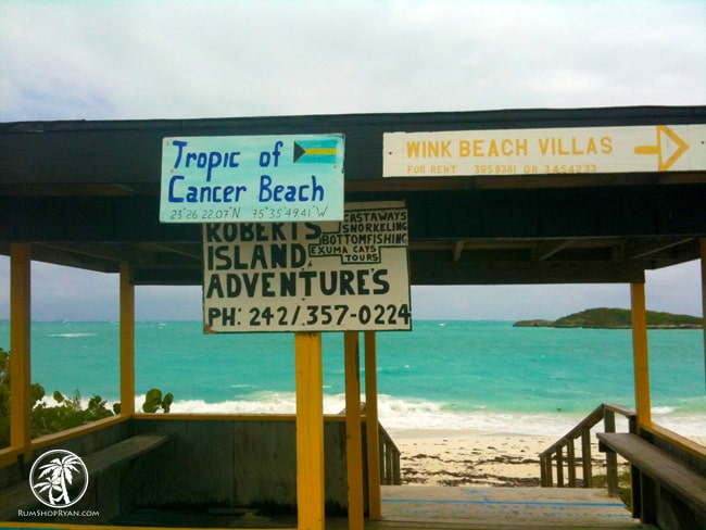 tropic of cancer beach