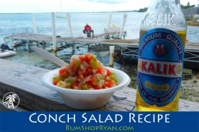 Conch Salad Recipe